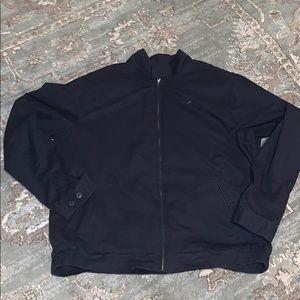 Eddie Bauer Explorer Cloth XL Tall Jacket Navy Blu